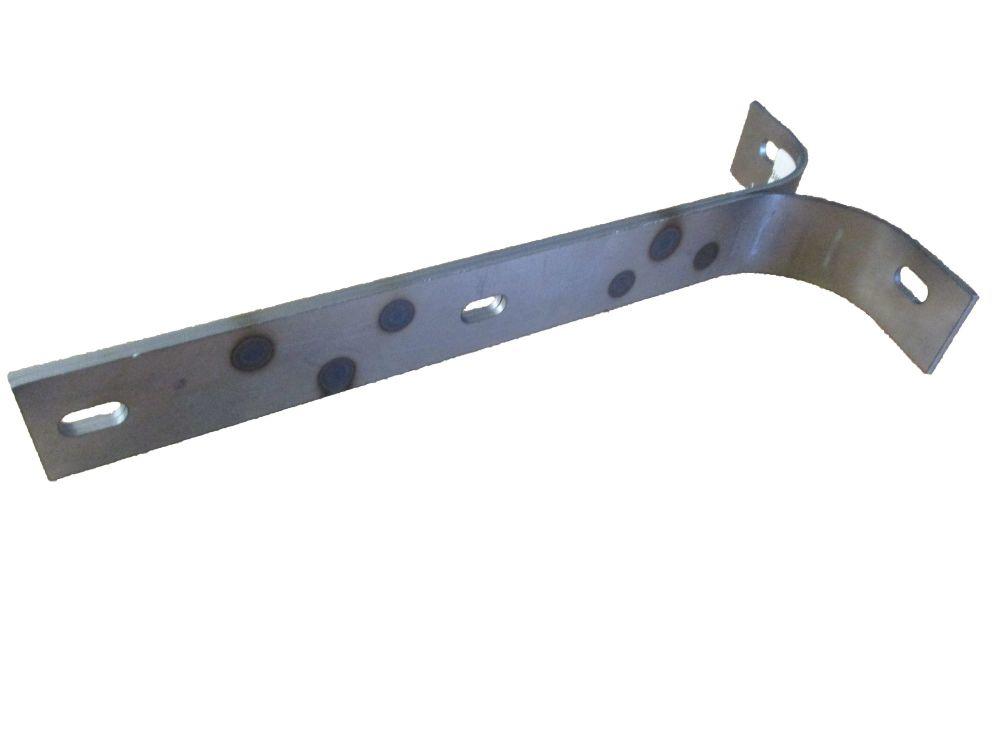 Barndoor Front Bumper Bracket, Left 50-55. 211-707-135