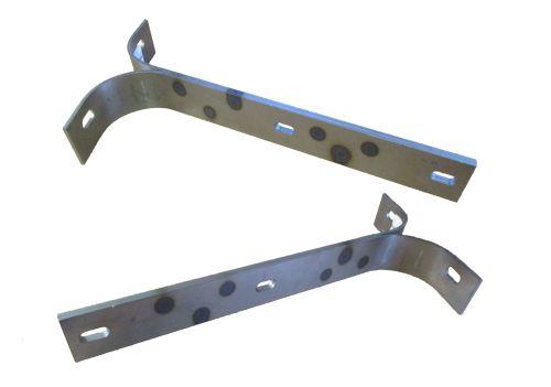 Barndoor Front Bumper Bracket, Pair 50-55. 211-707-135P