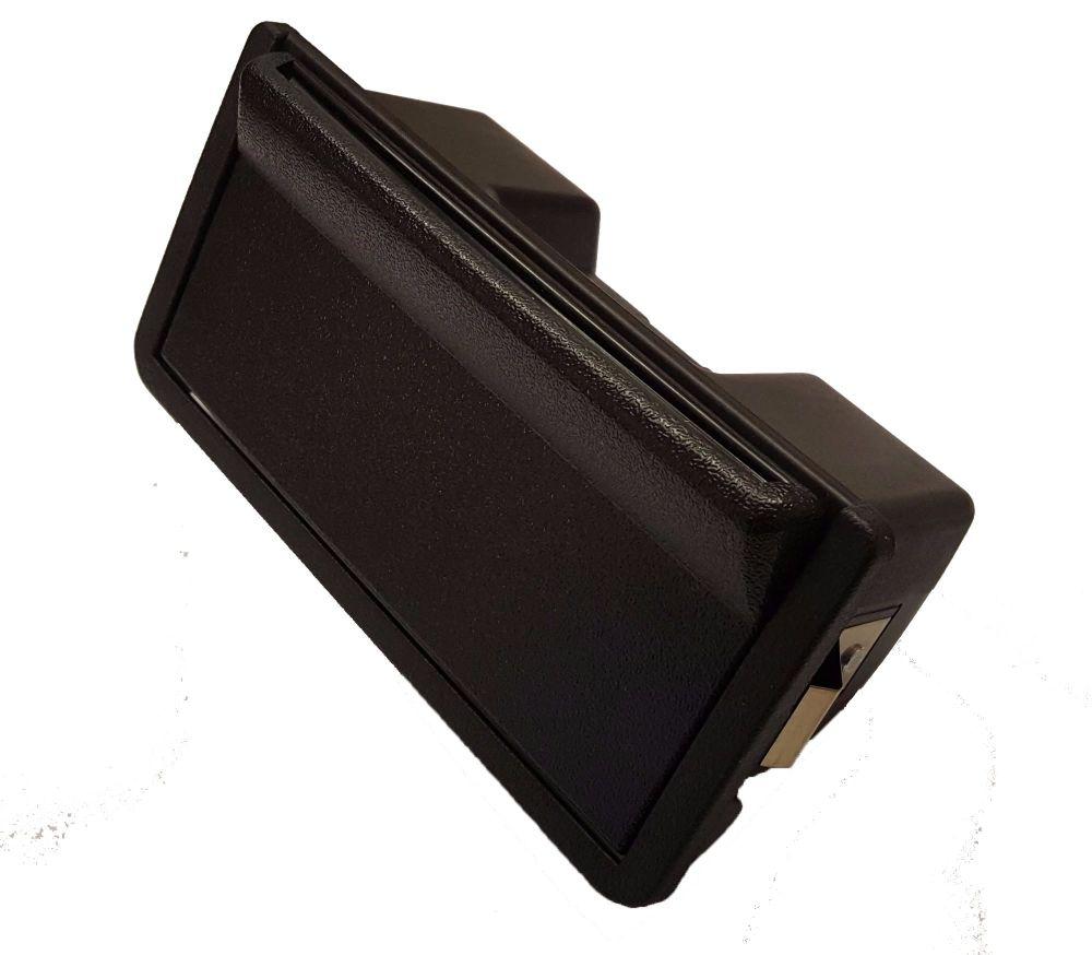 T25 Black Ashtray, Top Quality German.   251-857-351