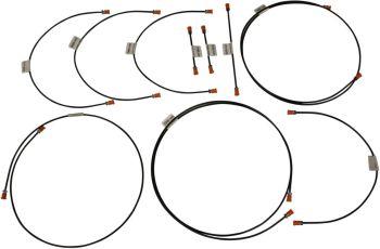 Brake Pipe Kit T25  8/83-7/85   251-698-005B