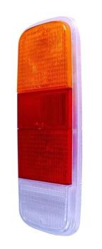 Rear Light Lens Clear, Red & Amber 72-79.   211-945-241ADR