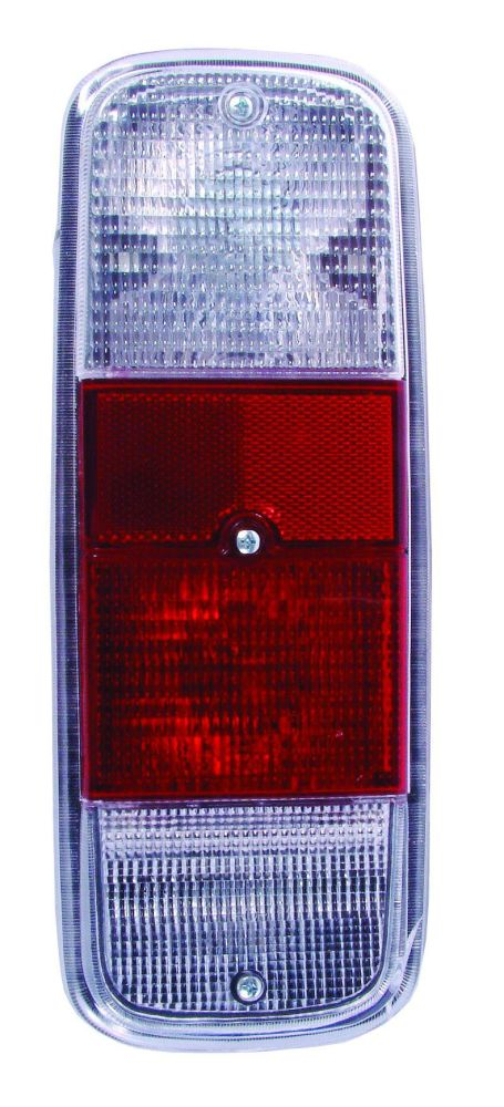 Rear Light Lens Clear, Red & Clear 72-79.   211-945-241CRC