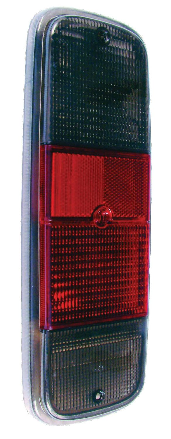 Rear Light Lens Smoked 72-79.   211-945-241ADS