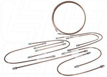 Copper Brake Pipe Kit LHD w/Servo 70-79.   211-698-502C