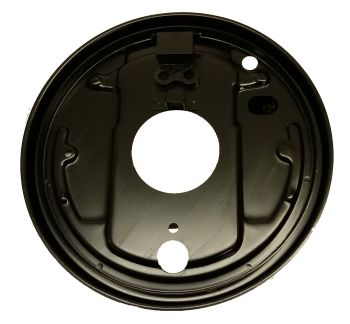 Rear Backing Plate, Left 68-70.   211-609-439D