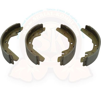 Rear Brake Shoe Kit 12/72-79.   211-698-537N
