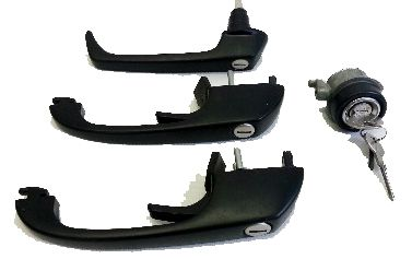 Door Lock Set, RHD 85-92. Genuine VW  SCH020