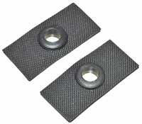 Wiper Grommets between Wiper Motor and Bracket 55-64, Pair.   211-955-123