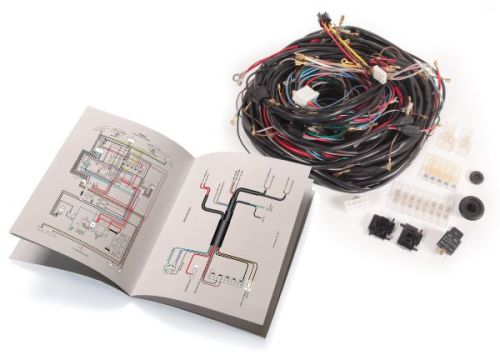 Complete Wiring Loom 75-79, Fuel Injection Bus.   211-971-028L