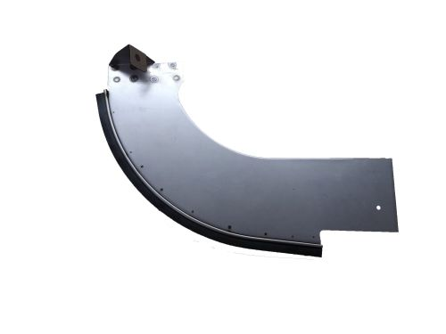 Rear Bumper Splash Panel Left (Ribbed Bumper) 55-58.  211-707-361