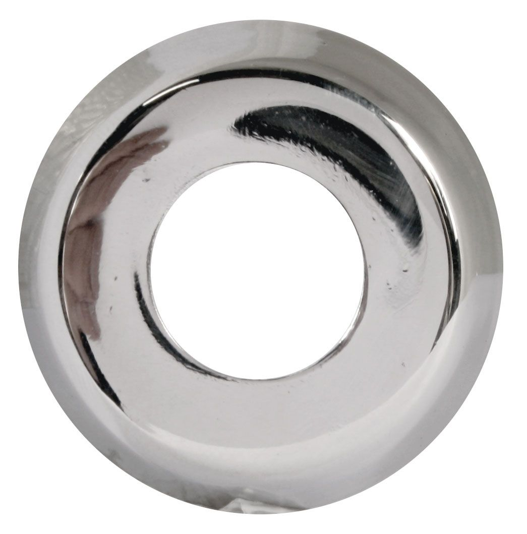 Inner Door Handle Collar, Polished Stainless, Top Quality -'66.   111-837-2