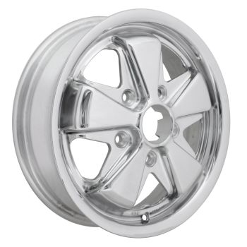 Fooks / Fuchs Alloy Wheel with Fully Polished Finish 4.5Jx15'' 5x130.   AC601004P