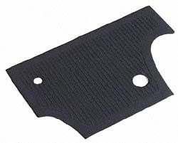 Firewall Mat, Black 60-65 Beetle.   113-863-107