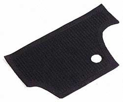 Firewall Mat, Black 66-72 Beetle.   113-863-107A