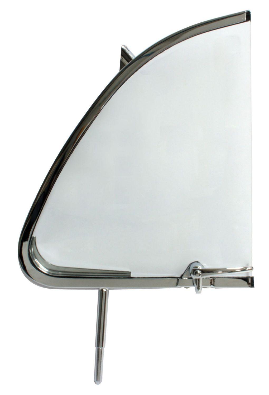 Cab Door Quarter Light, Right 55-64 Beetle, Top Quality.    113-837-606A
