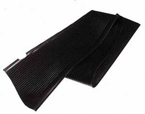 Running Board Mat, Left, Black, All Years Beetle.    111-821-531A