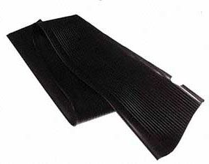 Running Board Mat, Right, Black, All Years Beetle.    111-821-532A