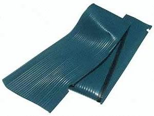 Running Board Mat, Left, Satin Blue, All Years Beetle.    111-821-531ASB