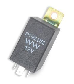 4-Pin Indicator Relay, Top Quality. 68-70 Beetle & Bus (Will fit earlier models)   211-953-215CWW