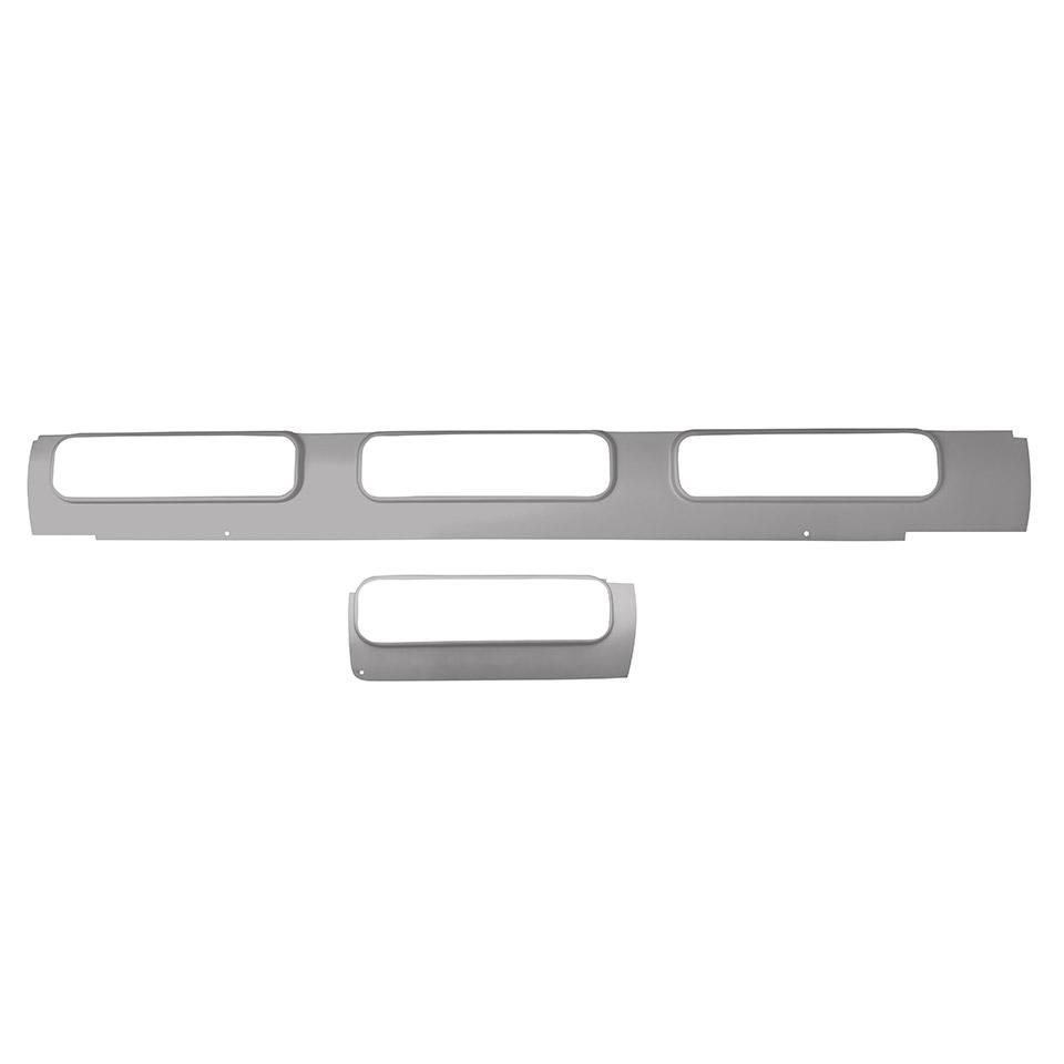 Samba Roof Inner Window Section (4 Windows), Right 55-67.   241-817-126