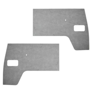 Front Door Cards, Grey Plastic 50-61.   211-867-105B