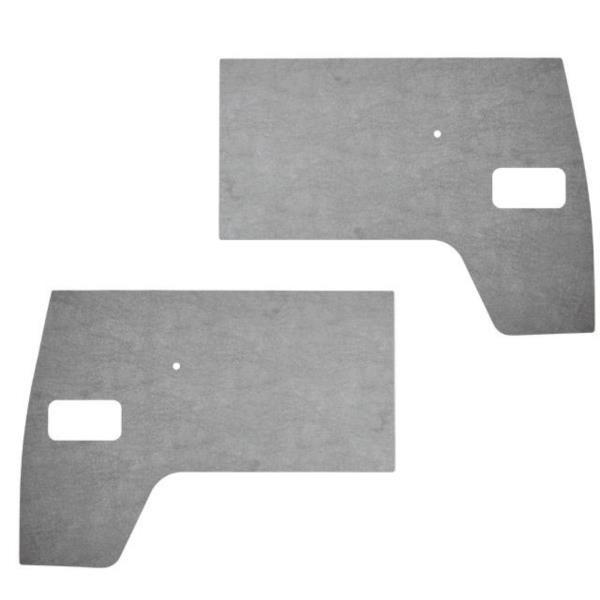 Front Door Cards, Grey Plastic 50-61.   211-867-105B