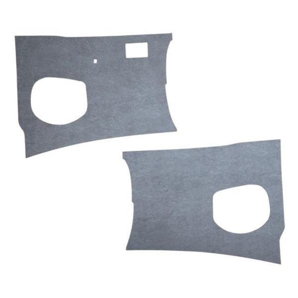 Kick Panels LHD Grey Vinyl, 55-60   211-863-111C