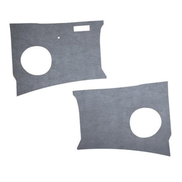 Kick Panels LHD Grey Vinyl, 60-63.  211-863-111D