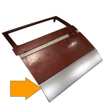 Sliding Door Outer Repair Skin 80->.   251-843-107