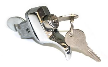 Engine Lid Lock, Top Quality 66-67.   113-827-503A