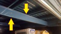 Pick-up Load Bed Side Member / Floor Strengthener 52-79.   261-801-841