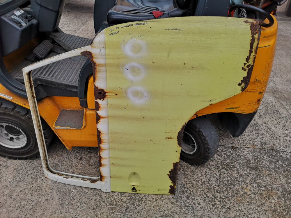 Used Cab Door, Right Side 74-79.
