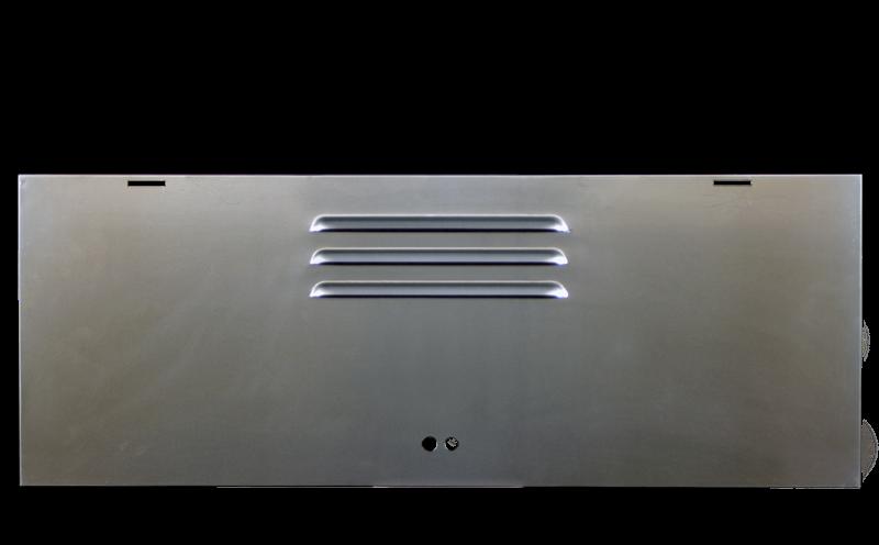 Single Cab Treasure Chest Locker Door Outer Skin Repair 52-65.   261-829-06