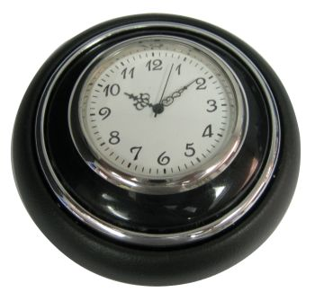Horn Push, Black with Clock 55-67.   211-951-301IBC