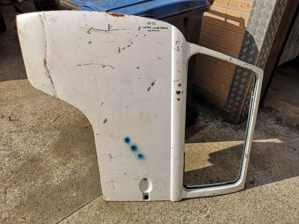 Used Cab Door 69-72 Left Side, Needs Welding