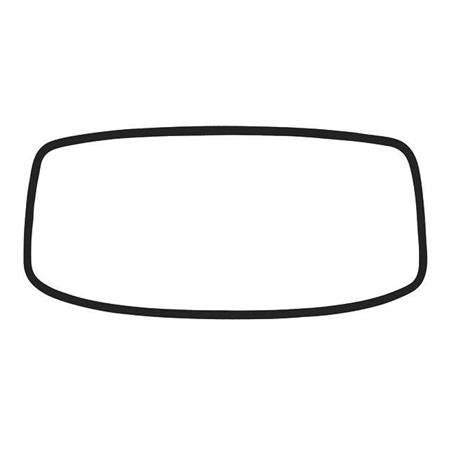 Front Screen Seal 68-79, Top Quality German.  211-845-121D