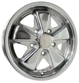 Fuchs Alloy Wheel Polished 5.5Jx15'' with 5x130 Stud Pattern ET45.   AC601005P