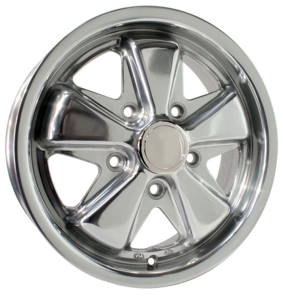 Fuchs Alloy Wheel Polished 5.5Jx15'' with 5x130 Stud Pattern ET45.   AC6010