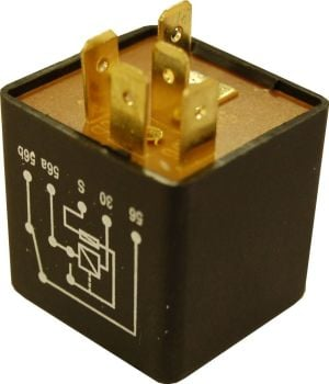 5-Pin Headlight Relay 12 Volt, GERMAN.   111-941-583ACG