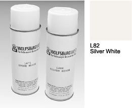 L82 Silver White Spray Paint Aerosol Can.