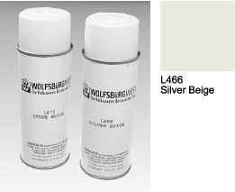 L466 Silver Beige Spray Paint Aerosol Can.