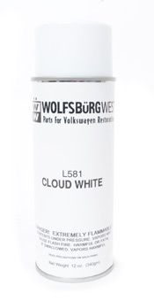 L581 Cloud White Spray Paint Aerosol Can.
