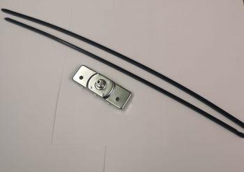 Side Cargo Door Inner Mechanism Including Rods, 55-63.   211-841-705A