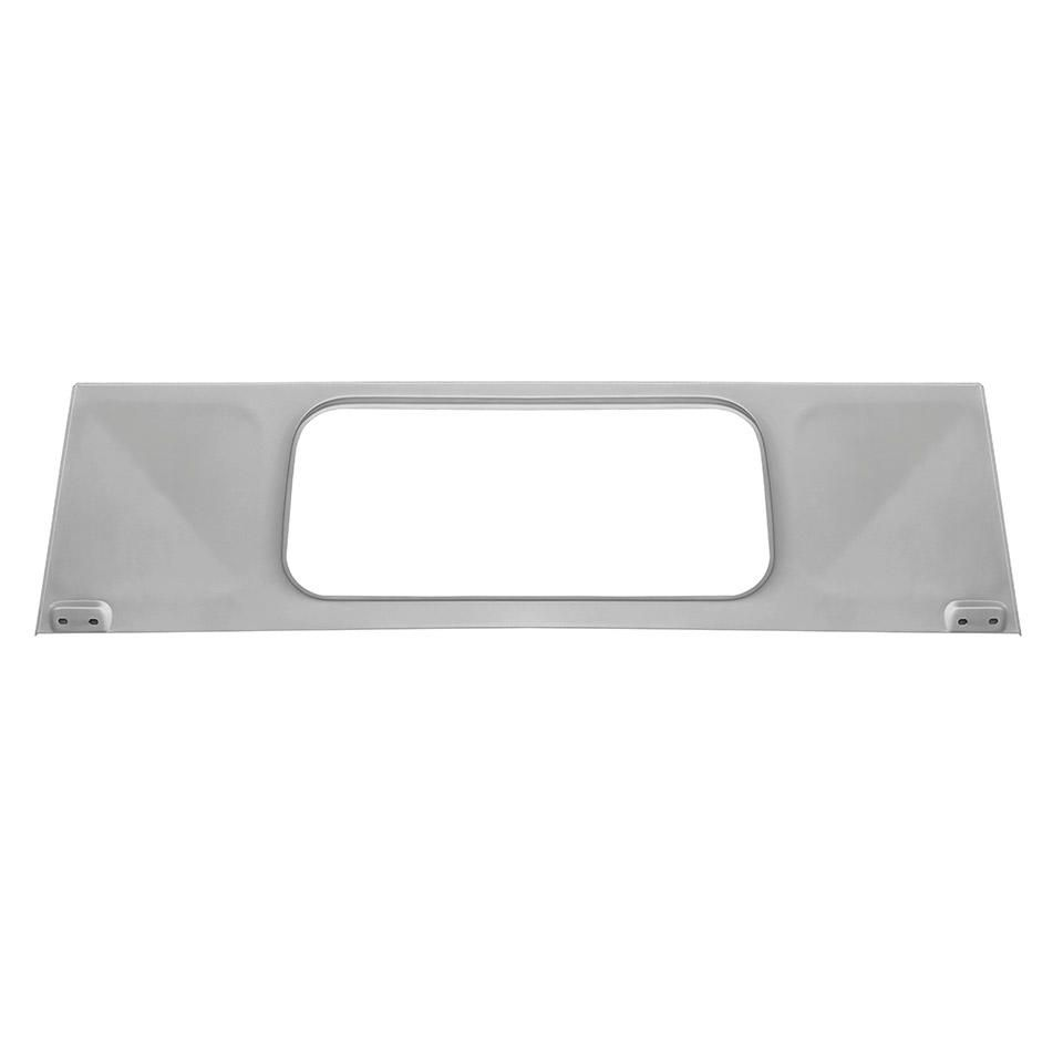 Pick-up Bulkhead Upper Rear Window Panel 53-65.   261-805-421C