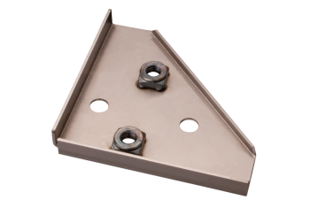 Pick-up Load Bed Support Panel, Left 58-67.   261-801-841B