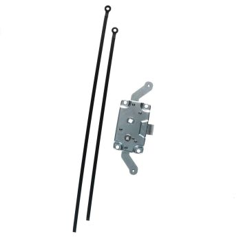 Side Cargo Door Lock Mechanism Including Rods, Top Quality 63-67.   211-841-605DR