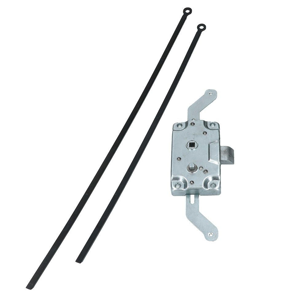 Side Cargo Door Lock Mechanism Including Rods, Top Quality 55-63.   211-841