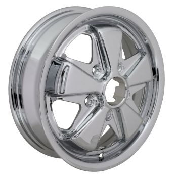 Fooks / Fuchs Alloy Wheel, Chrome 4.5Jx15'' 5x130.   AC601004C