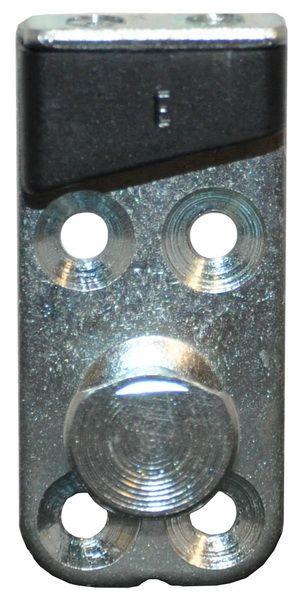 Beetle Cab Door Striker Plate 67-79, Left.    151837035C