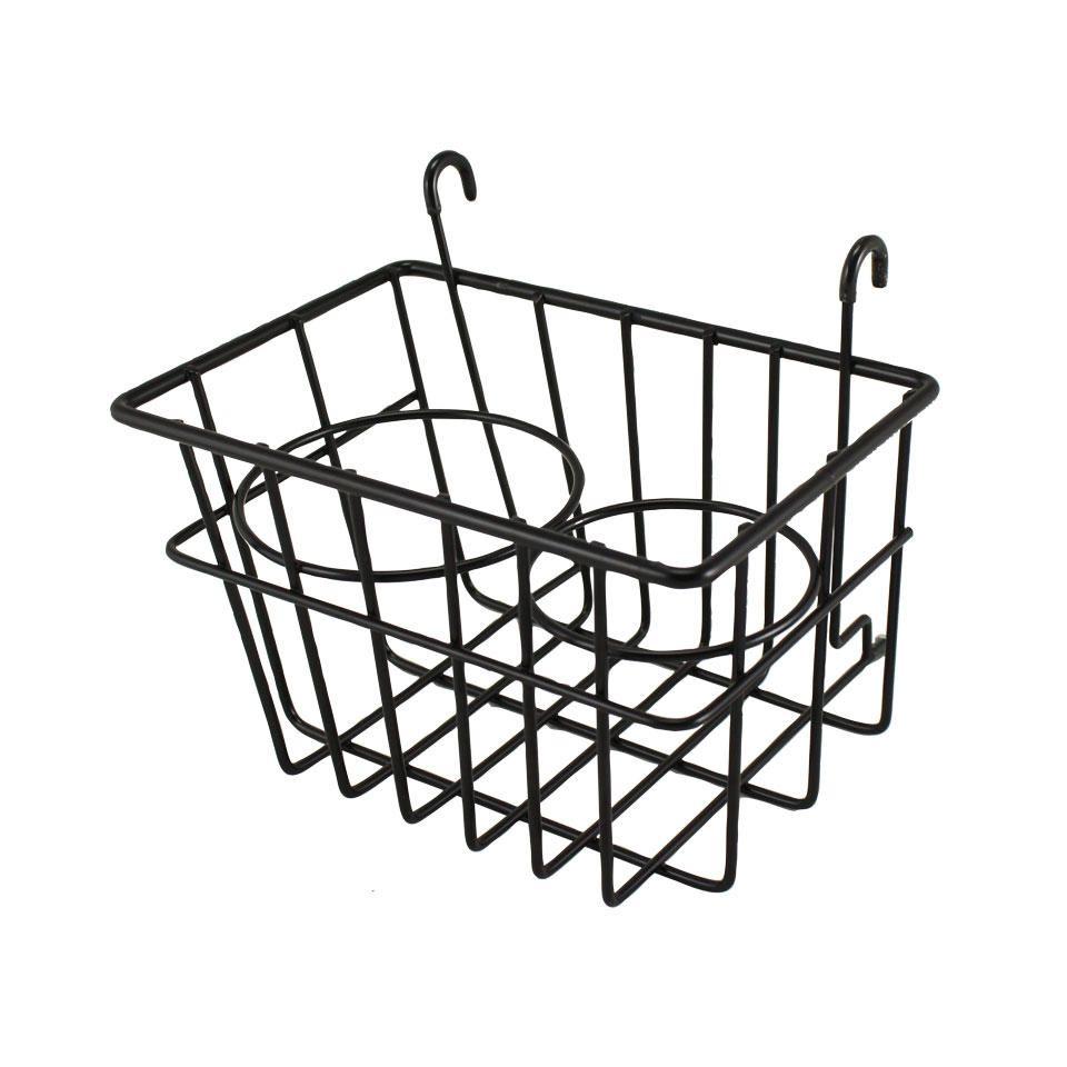 Drinks Holder / Storage Basket, Black, 55-67.   SCH0548210